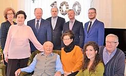 Alojzy Kałuża z Turzy Śląskiej obchodził setne urodziny - Serwis informacyjny z Wodzisławia Śląskiego - naszwodzislaw.com