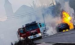 Ofiara pożaru w Pszowie. W Rydułtowach spłonęło BMW  - Serwis informacyjny z Wodzisławia Śląskiego - naszwodzislaw.com