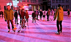 Miejskie lodowisko zakończyło sezon zimowy - Serwis informacyjny z Wodzisławia Śląskiego - naszwodzislaw.com