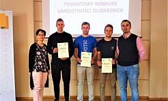 Uczniowie PCKZiU na podium Konkursu Umiejętności Ślusarskich - Serwis informacyjny z Wodzisławia Śląskiego - naszwodzislaw.com