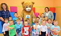 Teddy Eddie uczył przedszkolaków angielskiego - Serwis informacyjny z Wodzisławia Śląskiego - naszwodzislaw.com