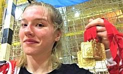 Cztery złote medale zawodniczki Octagon Team - Serwis informacyjny z Wodzisławia Śląskiego - naszwodzislaw.com