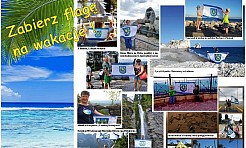 Zabierz flagę Gminy Mszana na wakacje. Rusza II edycja wakacyjnej zabawy - Serwis informacyjny z Wodzisławia Śląskiego - naszwodzislaw.com