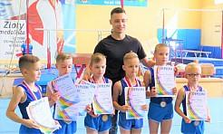Gimnastycy z Radlina wicemistrzami Śląska młodzików - Serwis informacyjny z Wodzisławia Śląskiego - naszwodzislaw.com