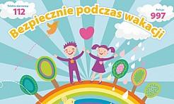Bezpieczne wakacje. Ważne porady dotyczące wypoczynku - Serwis informacyjny z Wodzisławia Śląskiego - naszwodzislaw.com