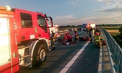 Wypadek motocyklisty zablokował DK 78 - Serwis informacyjny z Wodzisławia Śląskiego - naszwodzislaw.com