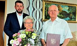 Połączyła ich miłość i taniec. Żelazna rocznica ślubu państwa Korbów - Serwis informacyjny z Wodzisławia Śląskiego - naszwodzislaw.com