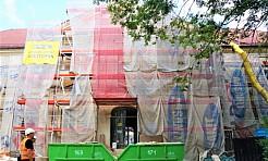 Ruszyła rozbiórka dachu Pałacu Dietrichsteinów [FOTO] - Serwis informacyjny z Wodzisławia Śląskiego - naszwodzislaw.com