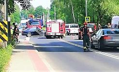 Wypadek na granicy Wodzisławia Śląskiego i Radlina - Serwis informacyjny z Wodzisławia Śląskiego - naszwodzislaw.com