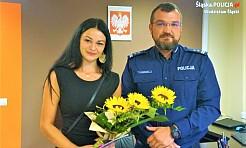 Mieszkanka Świerklan otrzymała podziękowania za wzorową postawę obywatelską - Serwis informacyjny z Wodzisławia Śląskiego - naszwodzislaw.com
