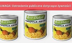 Kupiłeś ten produkt? Jego spożycie może być niebezpieczne - Serwis informacyjny z Wodzisławia Śląskiego - naszwodzislaw.com
