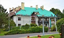 W gorzyckim DPS rozpoczął się remont dachu - Serwis informacyjny z Wodzisławia Śląskiego - naszwodzislaw.com