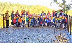 Atrakcyjny październik dzieci z pszowskiego przedszkola - Serwis informacyjny z Wodzisławia Śląskiego - naszwodzislaw.com
