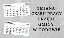 Jak czynny będzie godowski Urząd Gminy w okresie świątecznym? - Serwis informacyjny z Wodzisławia Śląskiego - naszwodzislaw.com