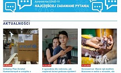 UNICEF Polska uruchomił stronę o koronawirusie - Serwis informacyjny z Wodzisławia Śląskiego - naszwodzislaw.com
