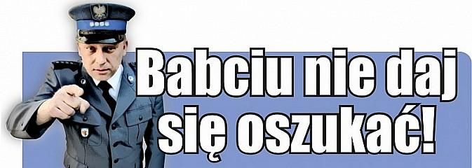 Babciu to nie Twój wnuczek! Dziadku to nie policjant! - Serwis informacyjny z Wodzisławia Śląskiego - naszwodzislaw.com