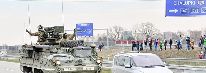 Dragoon Ride - amerykański konwój na naszym pograniczu - Serwis informacyjny z Wodzisławia Śląskiego - naszwodzislaw.com