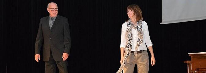 Piotr Machalica i Grażyna Wolszczak wystąpili na deskach radlińskiej sceny - Serwis informacyjny z Wodzisławia Śląskiego - naszwodzislaw.com