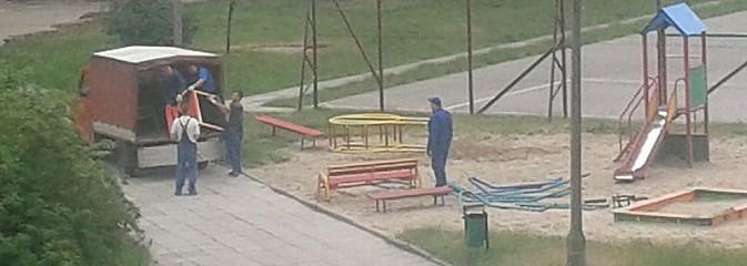Czytelnik pyta: Dlaczego na Osiedlu Piastów zlikwidowano plac zbaw, który znajdował się tam ponad 25-lat? - Serwis informacyjny z Wodzisławia Śląskiego - naszwodzislaw.com