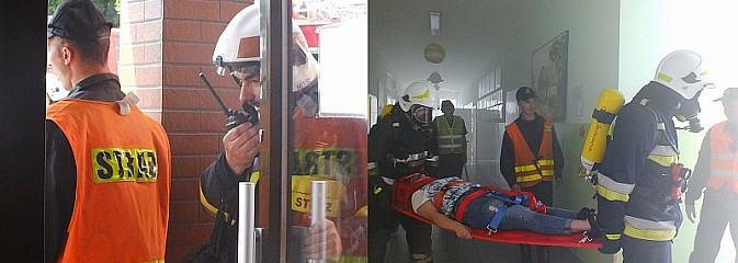 Przeżyli chwile grozy... Konferencję podsumowującą rok szkolny w SP nr 15 przerwali strażacy - Serwis informacyjny z Wodzisławia Śląskiego - naszwodzislaw.com