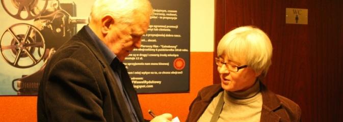 Filmowe spotkanie z Marianem Dziędzielem odbyło się w Rydułtowskim Centrum Kultury - Serwis informacyjny z Wodzisławia Śląskiego - naszwodzislaw.com