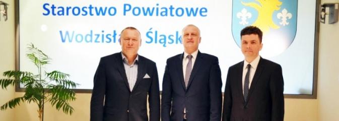 Władze powiatu spotkały się z dyrektorem NFZ. Rozmawiano o sytuacji w szpitalu  - Serwis informacyjny z Wodzisławia Śląskiego - naszwodzislaw.com