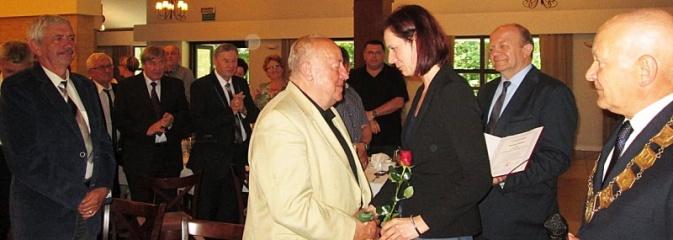 Bernard Muszer honorowym członkiem wodzisławskiego Cechu  - Serwis informacyjny z Wodzisławia Śląskiego - naszwodzislaw.com