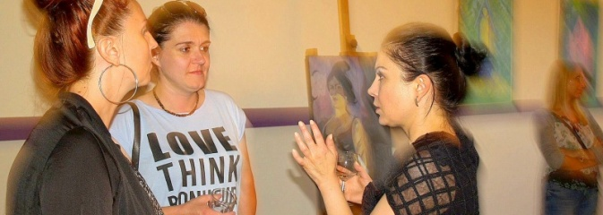 Nowa wystawa w Galerii ''Na Sali''. Agnieszka Rek zaprezentowała swoją twórczość w Olzie - Serwis informacyjny z Wodzisławia Śląskiego - naszwodzislaw.com