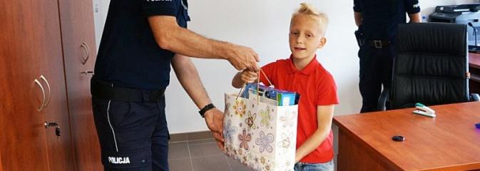 Mały wielki bohater. 9-letni chłopczyk pomógł złapać złodzieja - Serwis informacyjny z Wodzisławia Śląskiego - naszwodzislaw.com