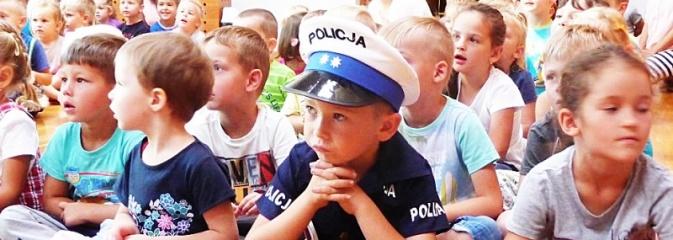 Witaj szkoło! Policjanci edukują dzieci - Serwis informacyjny z Wodzisławia Śląskiego - naszwodzislaw.com