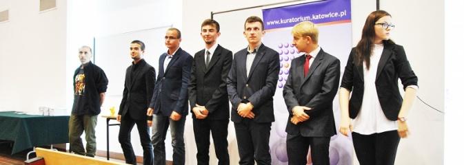 Spotkanie uczniów Budowlanki ze Śląskim Kuratorem Oświaty - Serwis informacyjny z Wodzisławia Śląskiego - naszwodzislaw.com