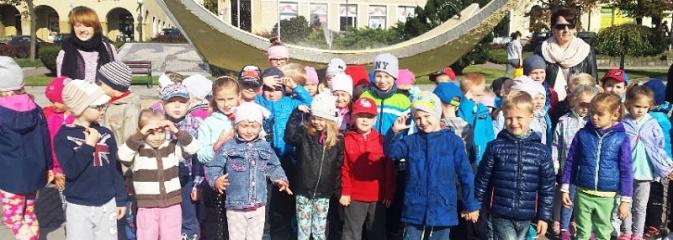 Wycieczka ulicami starego miasta. Przedszkolaki z szesnastki poznawały historię Wodzisławia - Serwis informacyjny z Wodzisławia Śląskiego - naszwodzislaw.com