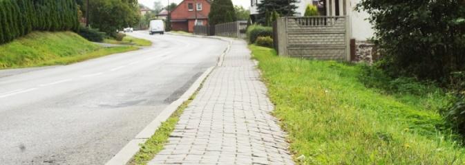 W związku z budową chodników możliwe utrudnienia na ul. 1 Maja w Mszanie  - Serwis informacyjny z Wodzisławia Śląskiego - naszwodzislaw.com
