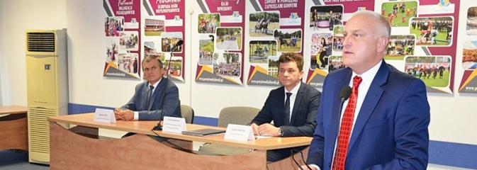 Spotkanie z Jerzym Szafranowiczem – dyrektorem śląskiego oddziału wojewódzkiego NFZ  - Serwis informacyjny z Wodzisławia Śląskiego - naszwodzislaw.com
