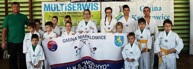 Udane zawody Marklowickich Karateków. Zdobyli 21 medali - Serwis informacyjny z Wodzisławia Śląskiego - naszwodzislaw.com