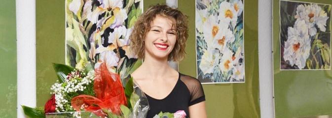 Radlin: Otwarcie wystawy malarstwa Anety Gajos - Serwis informacyjny z Wodzisławia Śląskiego - naszwodzislaw.com