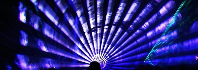 Pokaz laserowy zamiastfajerwerków. Tak świętowali w Radlinie - Serwis informacyjny z Wodzisławia Śląskiego - naszwodzislaw.com