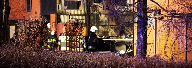 Pszów: Prace spawalnicze przyczyną pożaru. FOTO - Serwis informacyjny z Wodzisławia Śląskiego - naszwodzislaw.com