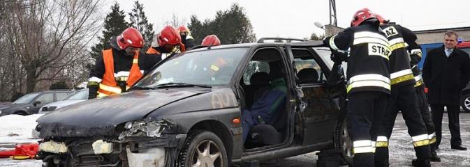 Wodzisławscy strażacy otrzymali sprzęt za około 200 tys. złotych. Będzie też nowy wóz bojowy z drabiną - Serwis informacyjny z Wodzisławia Śląskiego - naszwodzislaw.com