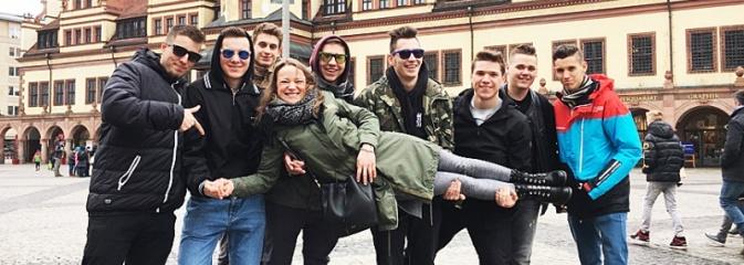 Elektryka po niemiecku. Uczniowie z PCKZiU nabywali doświadczenie w Lipsku - Serwis informacyjny z Wodzisławia Śląskiego - naszwodzislaw.com