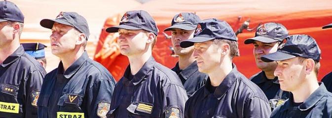 Strażacy świętowali na wodzisławskim Rynku  - Serwis informacyjny z Wodzisławia Śląskiego - naszwodzislaw.com