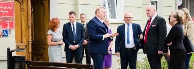 Z wicewojewodą o sprawach powiatu - Serwis informacyjny z Wodzisławia Śląskiego - naszwodzislaw.com
