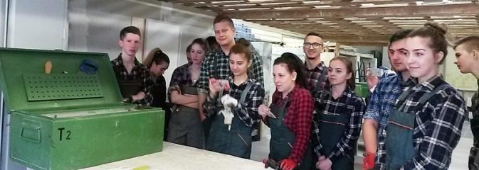 Uczniowie Budowlanki na stażach we Frankfurcie nad Odrą - Serwis informacyjny z Wodzisławia Śląskiego - naszwodzislaw.com