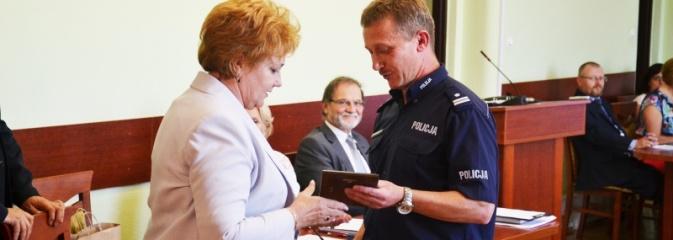 W Radlinie podziękowali komendantowi za 11 lat służby - Serwis informacyjny z Wodzisławia Śląskiego - naszwodzislaw.com