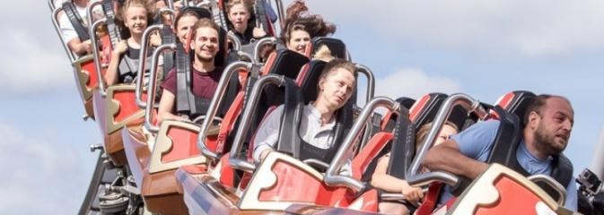 104 sekundy na adrenalinie. Ruszył największy rollercoaster w Polsce - Serwis informacyjny z Wodzisławia Śląskiego - naszwodzislaw.com