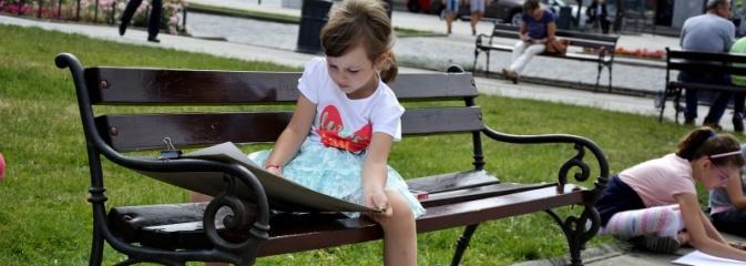 Malujemy Wodzisław – plener malarski na rynku  - Serwis informacyjny z Wodzisławia Śląskiego - naszwodzislaw.com