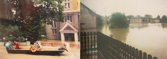 W Olzie upamiętnili 20-lecie powodzi - Serwis informacyjny z Wodzisławia Śląskiego - naszwodzislaw.com