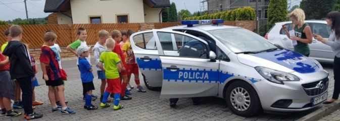 Policjanci o bezpieczeństwie podczas półkolonii  - Serwis informacyjny z Wodzisławia Śląskiego - naszwodzislaw.com