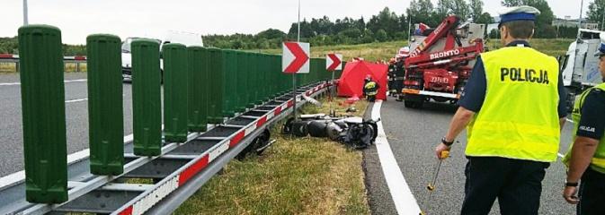 W lipcu na Śląsku doszło do trzech śmiertelnych wypadków z udziałem motocyklistów. Nie bądź następny!  - Serwis informacyjny z Wodzisławia Śląskiego - naszwodzislaw.com