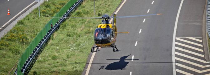 Zasłabnięcie kierowcy prawdopodobną przyczyną wypadku na A1. Kierowca zmarł - Serwis informacyjny z Wodzisławia Śląskiego - naszwodzislaw.com